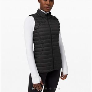 NWT Black Lululemon Pack It Down Vest Size 4